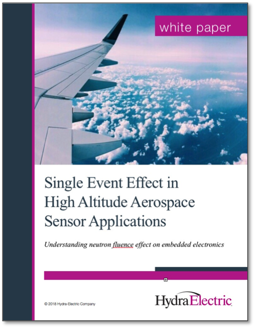 Single Event Effect in High Altitude Aerospace Sensor Applications