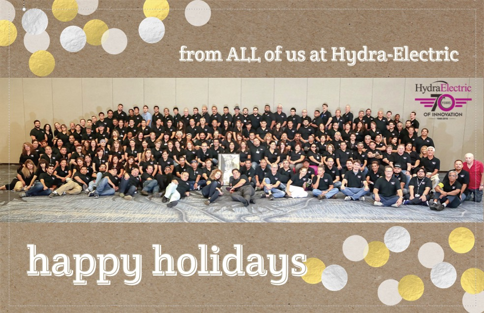 HAPPY HOLIDAYS! … Please note our holiday schedule