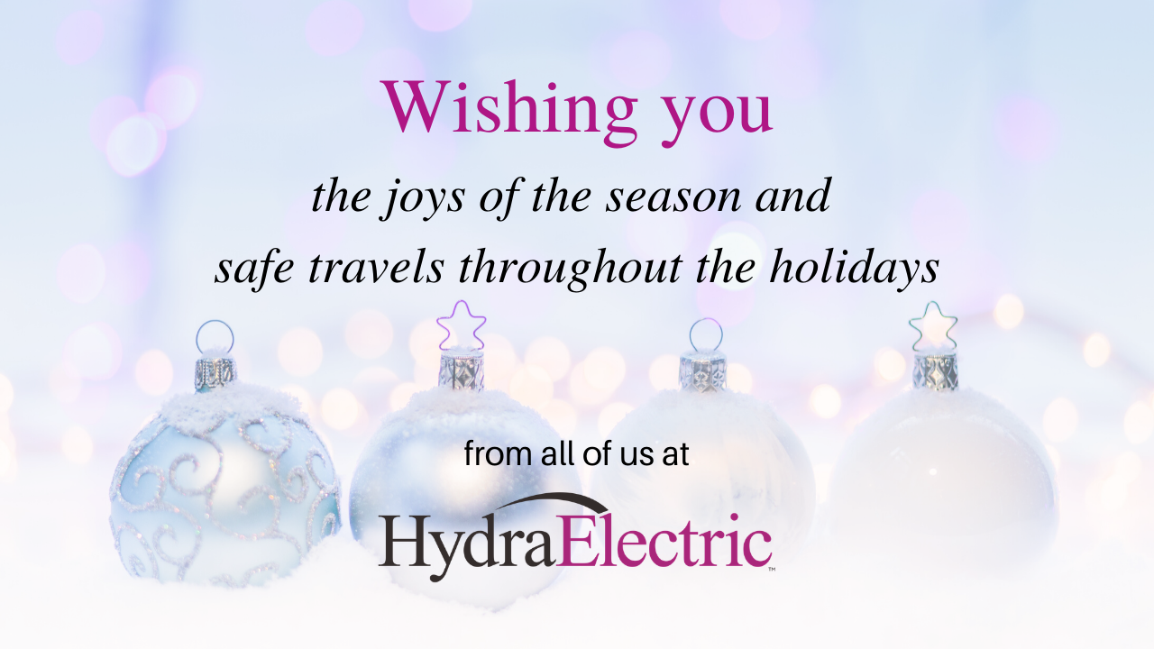 Holiday Greetings from Hydra-Electric