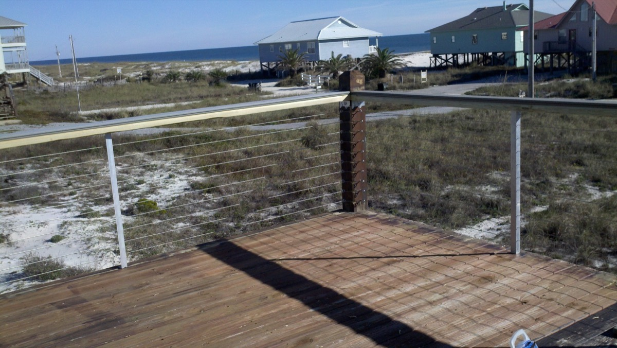 Square Stainless Railing Systems