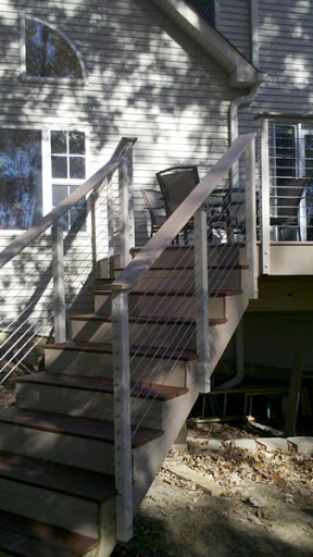Clay Aluminum Post to Post Cable Railing System 3