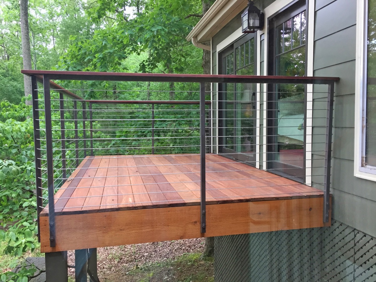 Fittings & Cable Infill for a Railing in Counce, TN
