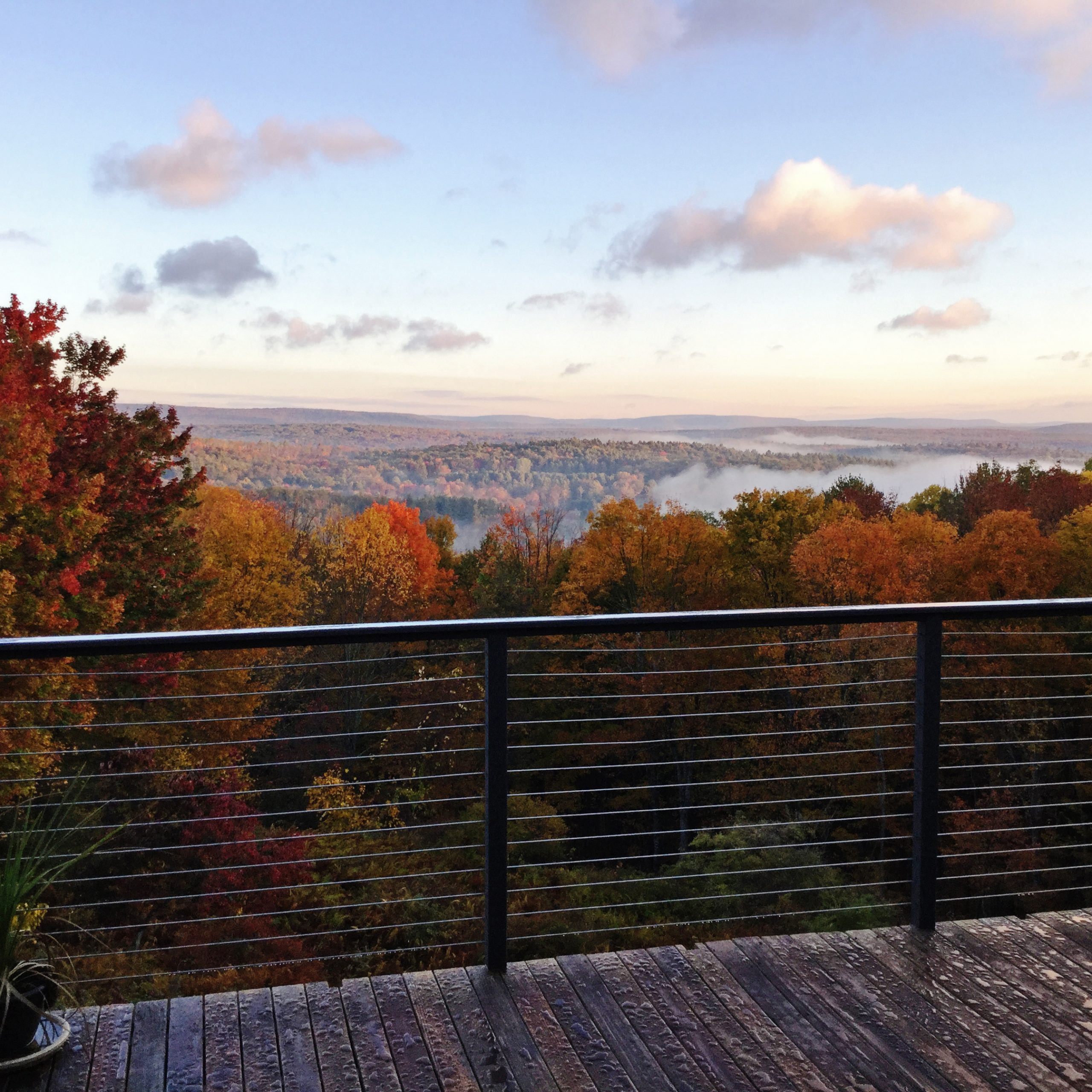 Autumn Views… Brought to You By Cable Railing Direct