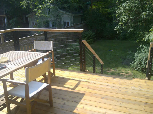 Aluminum Cable Railing Systems Back Deck