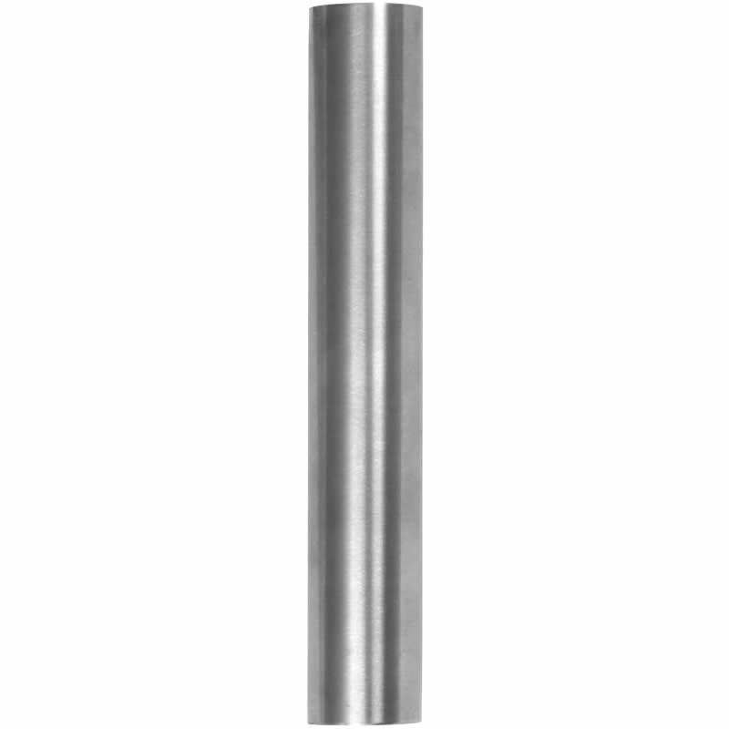 2in radius 20ft brushed stainless steel tube for top rail