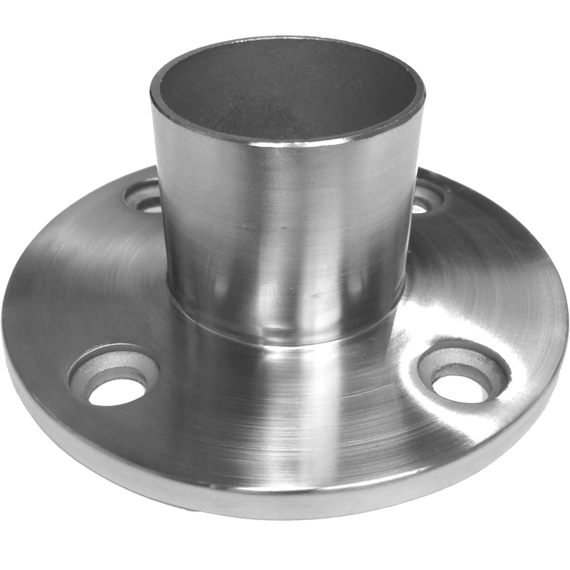 2in long neck 4 hole floor or wall flange