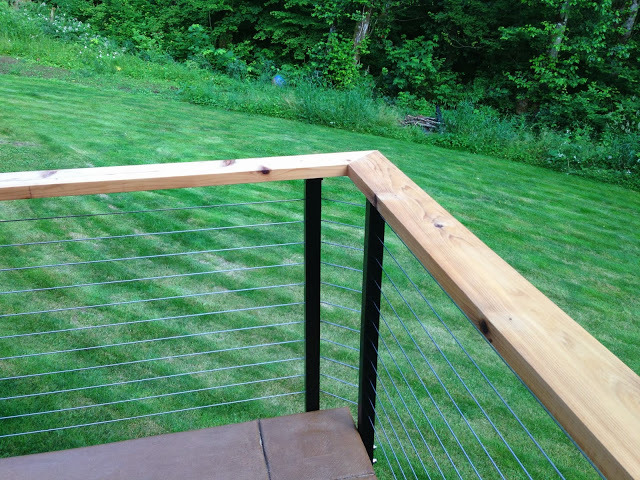 Yacolt WA Stainless Cable Railing Installation 6