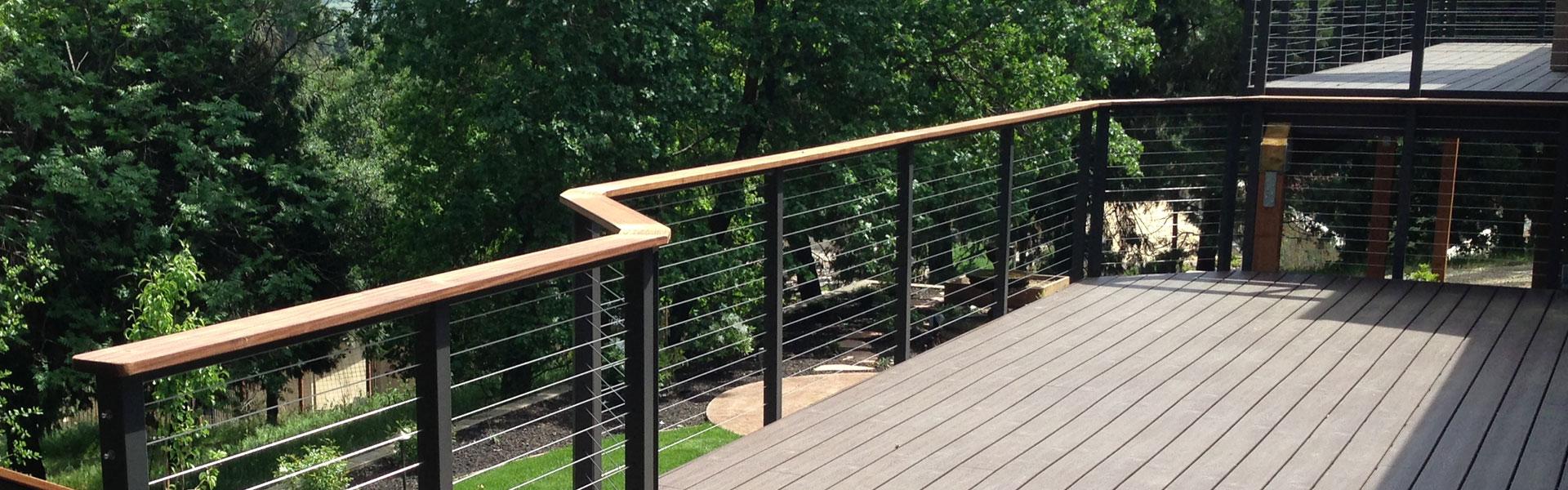 Modern Deck Rails: Glass vs Cable