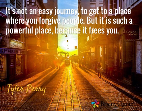 (Quote)  Journey Toward Forgiveness