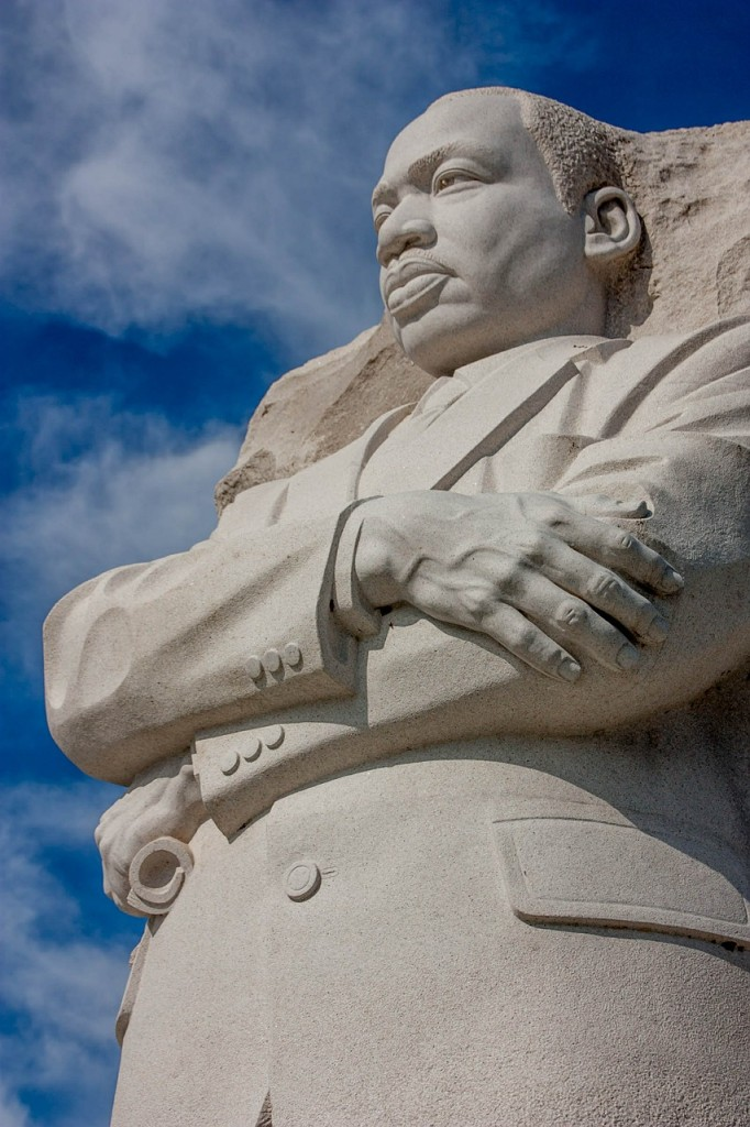black history month dr. martin luther king, jr. monument in Washington DC
