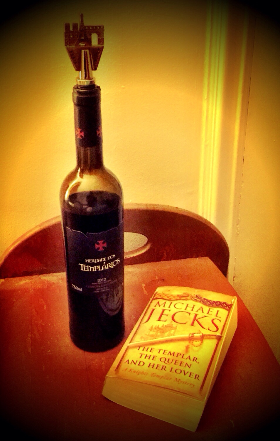Friday Night: A Little Templar with My Wine