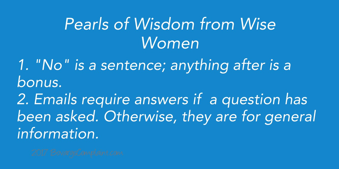 Wise Words from Wise Women