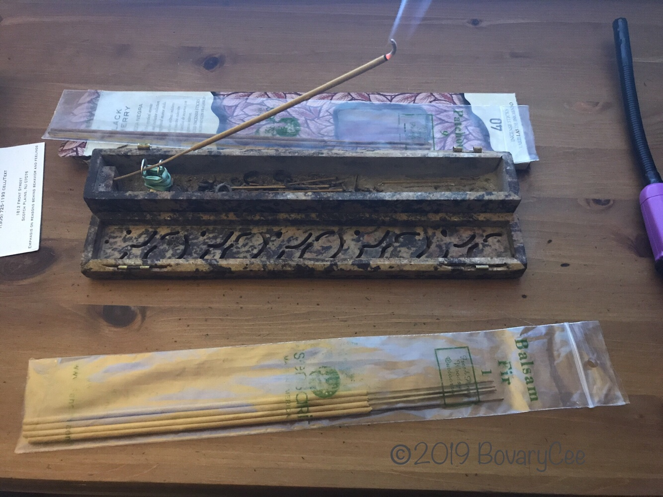 Incense Smells Like Mari…What?