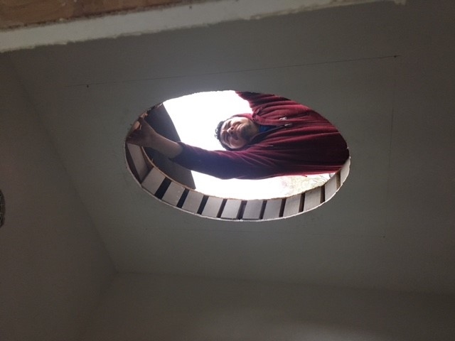 Custom Craftsmanship: Oval Window