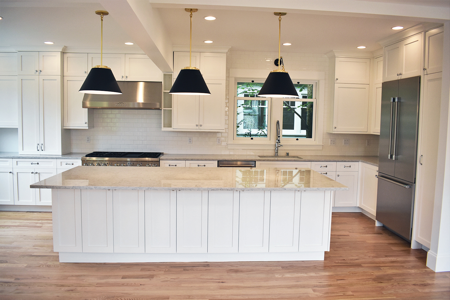 Kitchen Remodel: New Island and Lighting