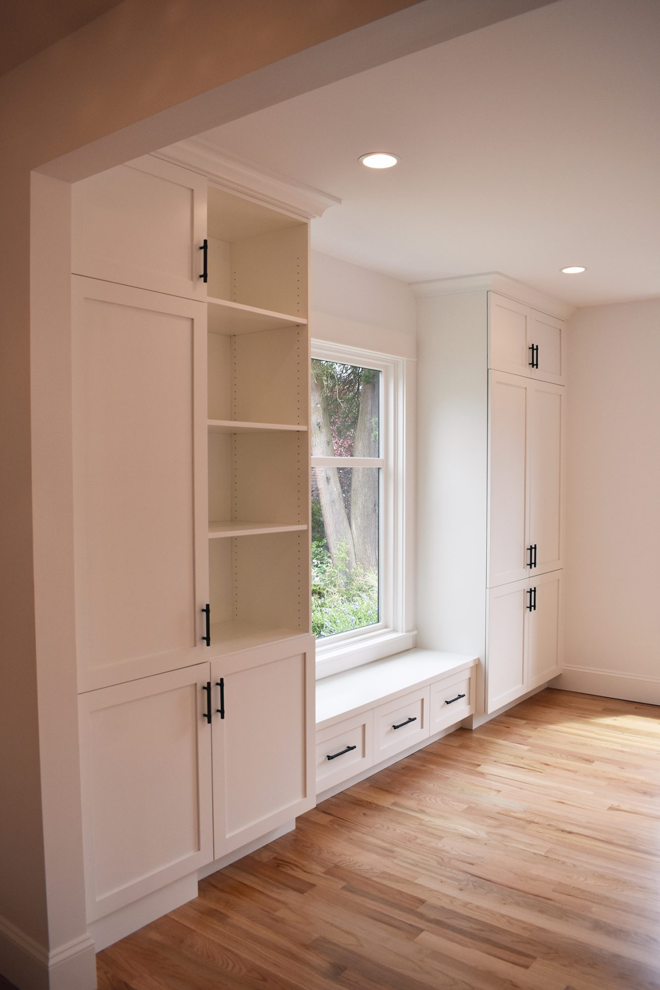 Custom Built-in Kitchen Storage