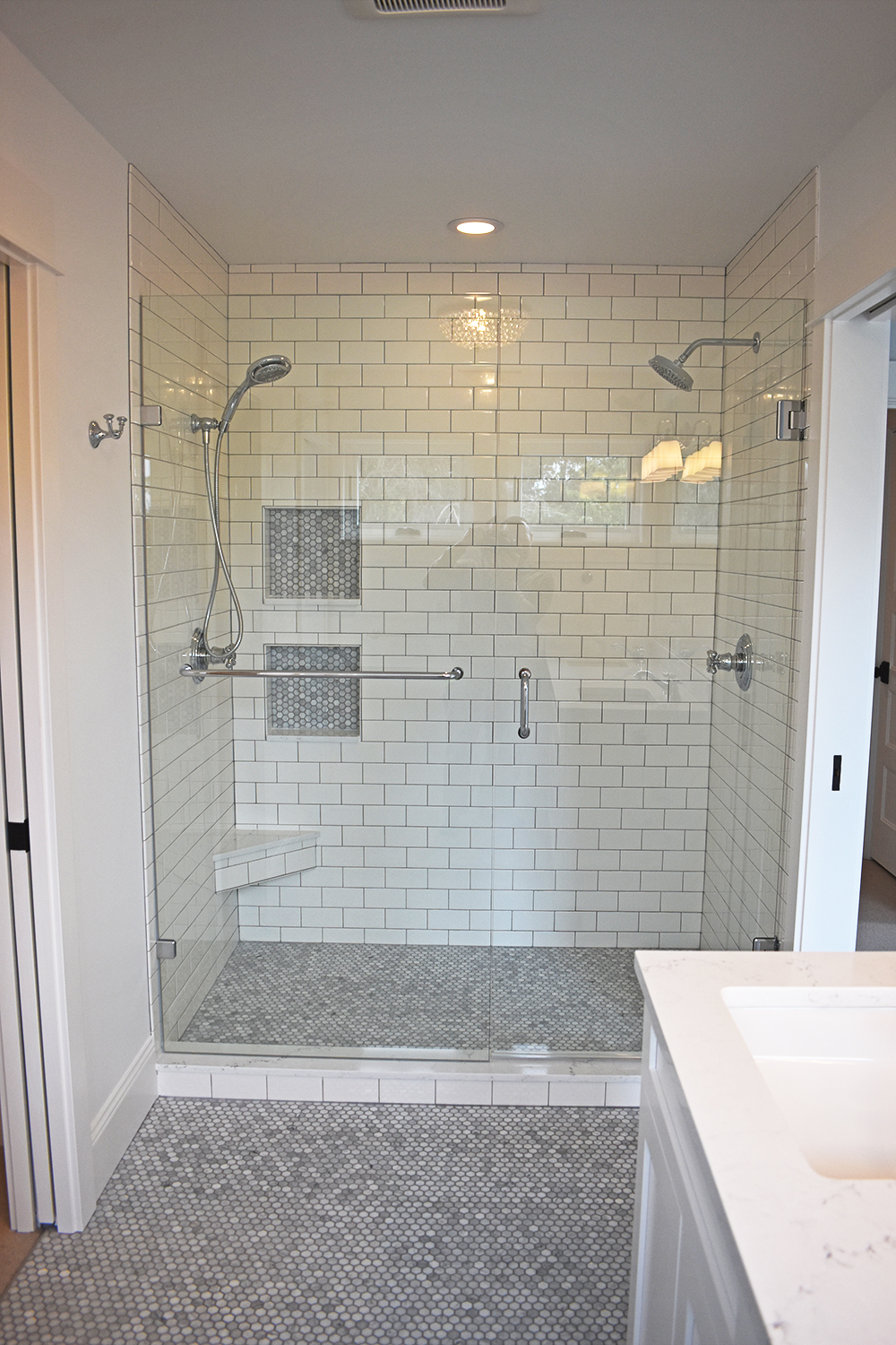 Bathroom Remodel - Dual Shower Head