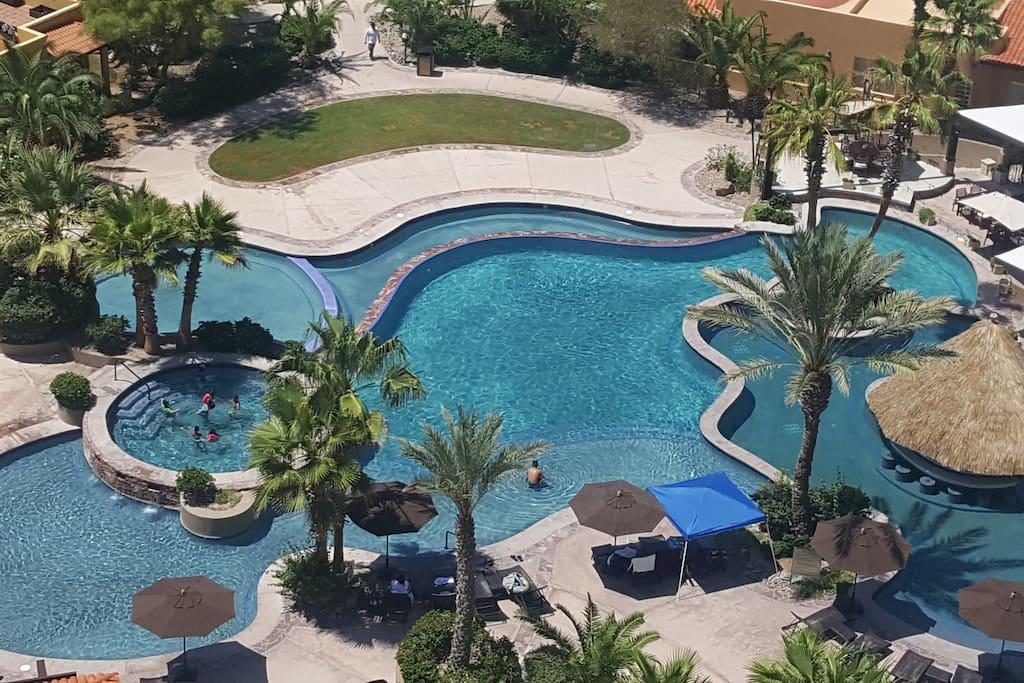 Pool Air View