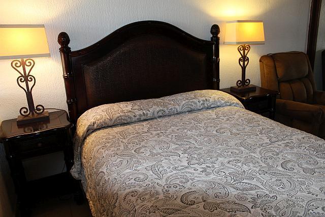 Bed in Bedroom 1