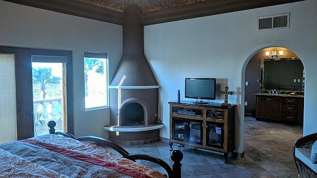 Chimney of Master Bedroom