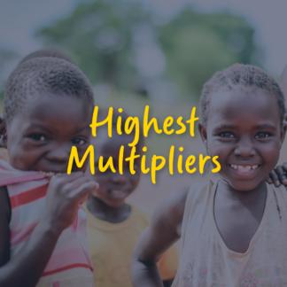 Highest Multipliers