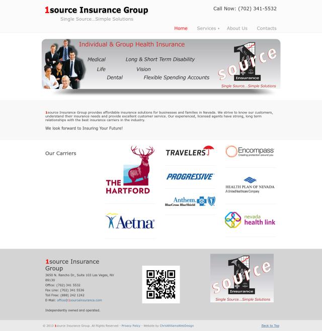 1source Insurance Screenshot