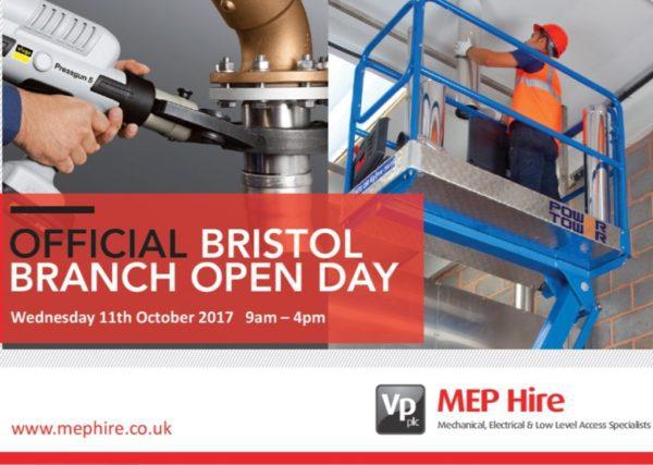 MEP Hire Bristol Open Day