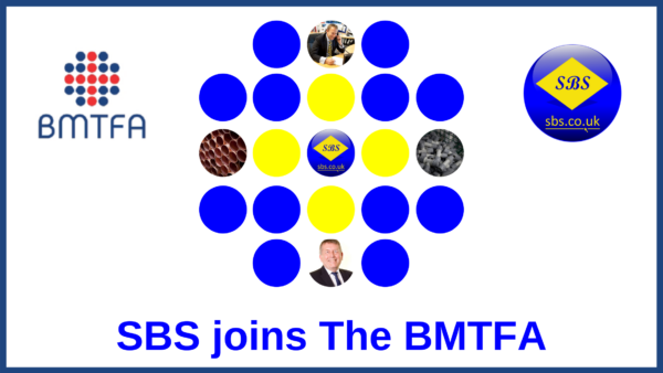 SBS joins The BMFTA (British Metal Tube Fittings Association)