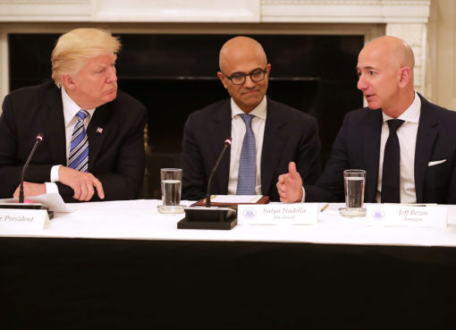 President Trump and Jeff Bezos - Econ Alerts