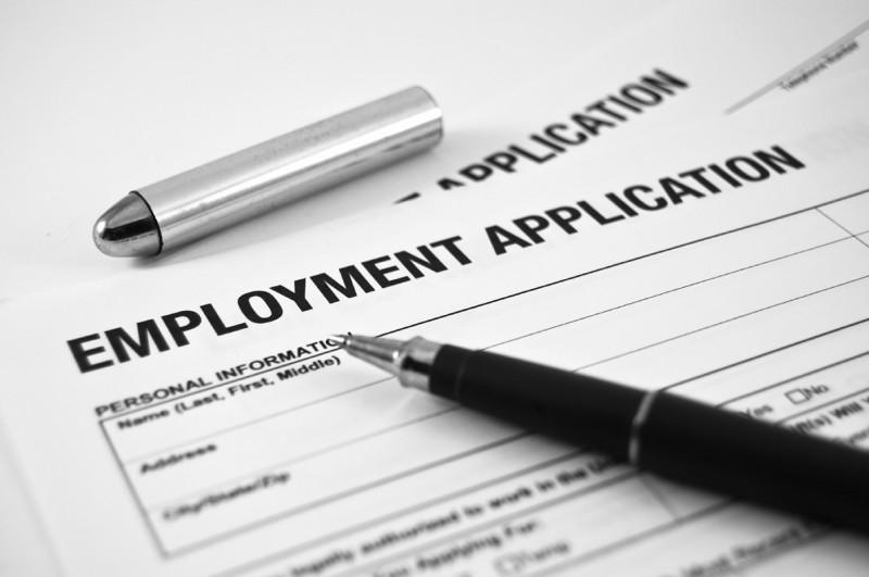 jobs application form | Econ Alerts