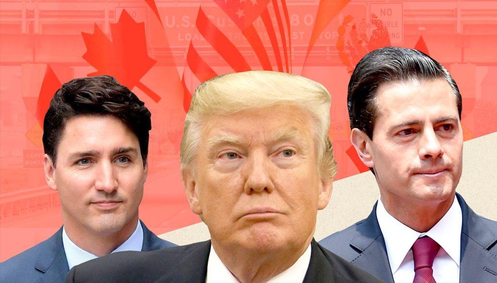 Trump Trudeau Nieto NAFTA | Econ Alerts