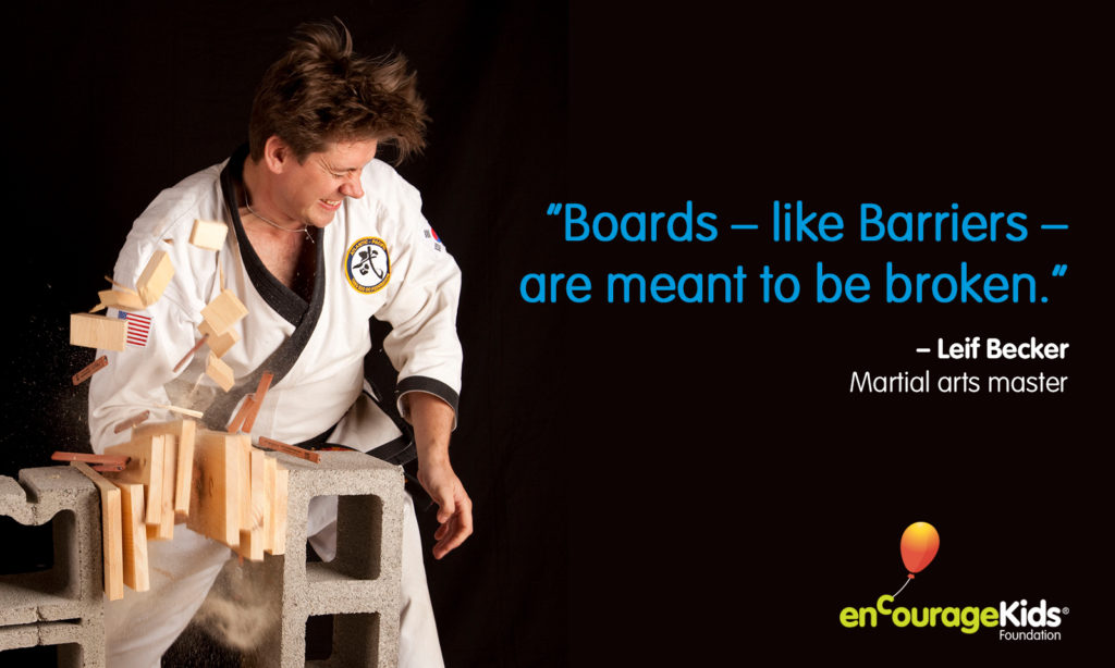 Breaking Barriers Quote