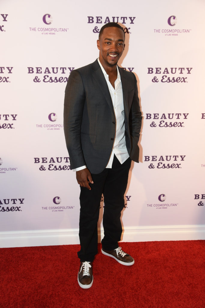 Anthony Mackie at the Chris Santos and TAO Group opening of Beauty & Essex at The Cosmopolitan of Las Vegas_Al Powers
