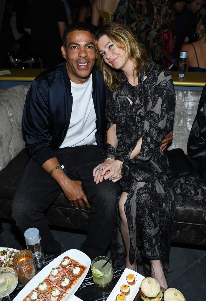 LAS VEGAS, NV - MAY 14: Chris Ivery and Ellen Pompeo attend the opening of Beauty & Essex at the Cosmopolitan of Las Vegas on May 14, 2016 in Las Vegas, Nevada. (Photo by Denise Truscello/WireImage) *** Local Caption *** Chris Ivery; Ellen Pompeo