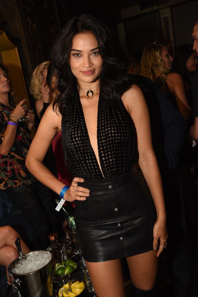 Shanina Shaik at the Chris Santos and TAO Group opening of Beauty & Essex at The Cosmopolitan of Las Vegas_Al Powers