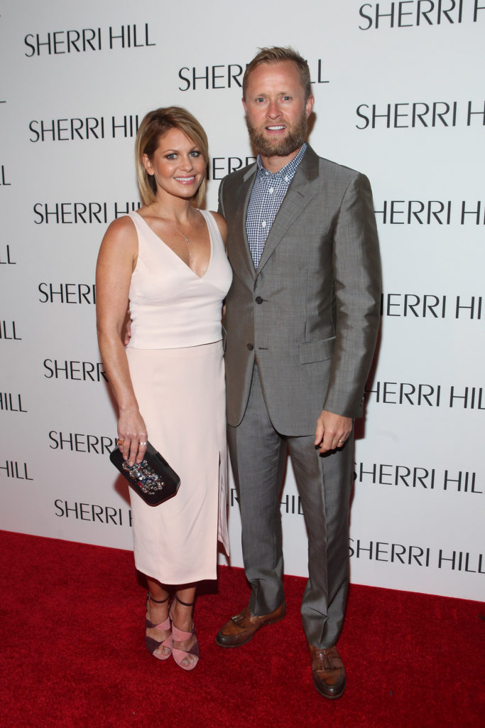 NEW YORK, NY - SEPTEMBER 12: Candace Cameron Bure and Val Bure attend Sherri Hill fashion show at Gotham Hall on September 12, 2016 in New York City. (Photo by Steve Zak/Getty Images for Sherri Hill)