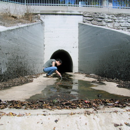 Ballona Creek Monitoring Photo by Los Angeles Waterkeeper