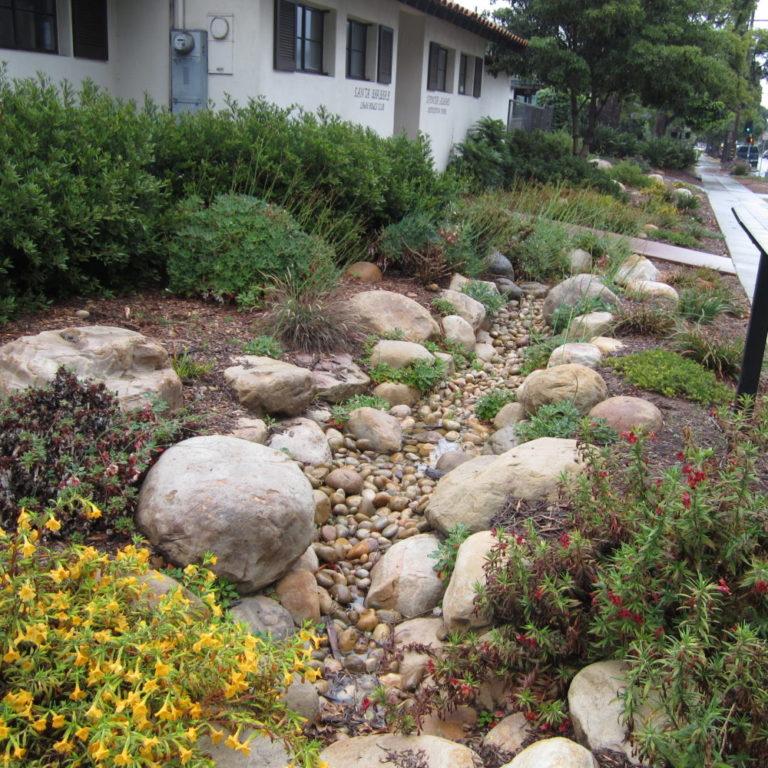 Santa Barbara Rain Garden