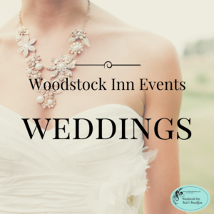 Woodstock Inn Weddings