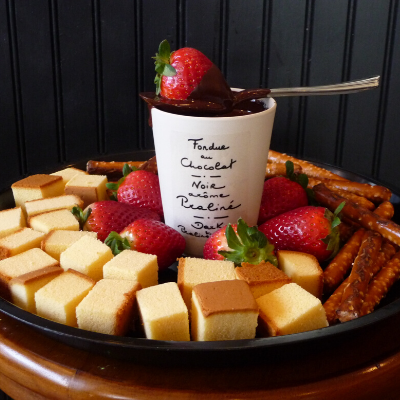 Chocolate Fondue | Woodstock Inn B&B