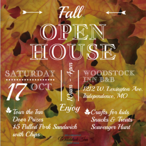 Fall Open House | Woodstock Inn B&B