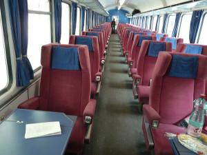 Como Comprar Tickets Baratos - Interior tren Eurocités