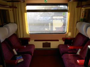 Como Comprar Tickets Baratos - Interior tren Eurocités 4