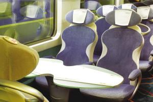 2da clase en en TGV Atlantique