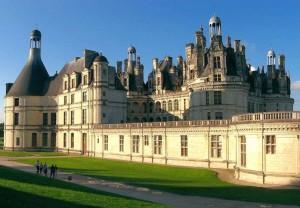 Chateau de Chambord en el Valle de Loire