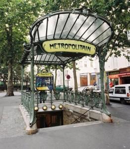 Entrada al metro de Paris