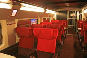 Thalys Paris-Amsterdam, 1ra clase