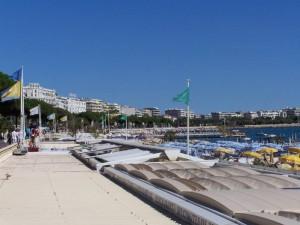 Zona centrica de playas, Cannes