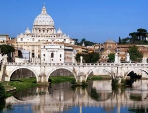 Puente y Basilica de San Pedro, Vaticano