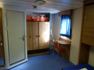 Interior de una cabina